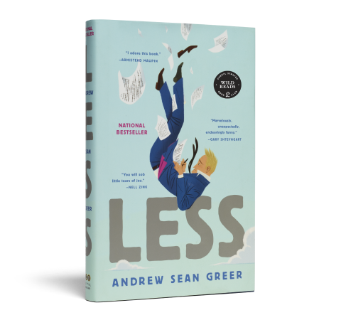 Less book image