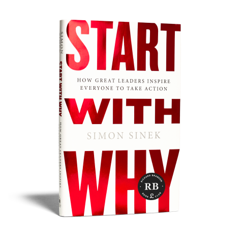 Start with Why book image
