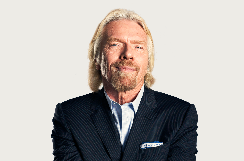 Richard Branson Headshot Photo